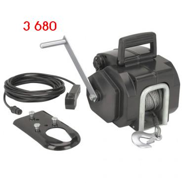 3000 Lb. Capacity 12 Volt Electric Winch № 96455